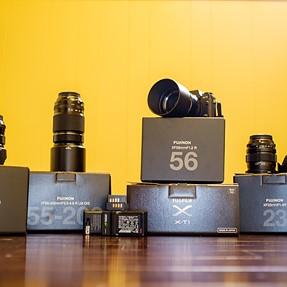 Fuji X-T1 Super Kit! 56mm, 23mm, 14mm, 55-200mm, BavEyes Speed Booster