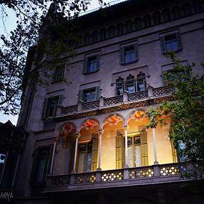 A balcony in Barcelona