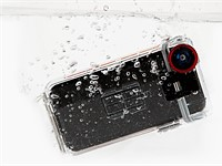 Optrix iPhone 5 case and wide-angle lens for sale