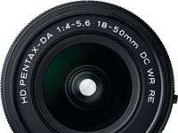 Collapsible Pentax-DA 18-50mm F4-5.6 DC WR RE claims title of world's shortest zoom