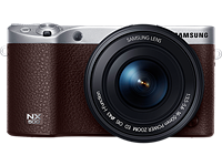 Samsung NX500 shown as discontinued