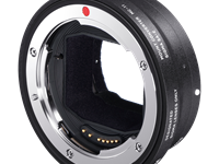 Sigma Mount Converter MC-11 adapts Sigma lenses to E-mount cameras, supports autofocus