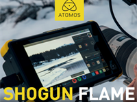 Atomos releases new 'Flame' versions of Shogun and Ninja recorders
