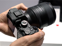 Video: Hands-on with Sony's G Master lenses and the a6300 at CP+ 2016