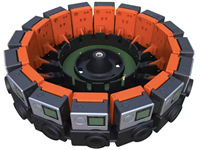 Google and GoPro unveil 16-camera 'Array' VR rig