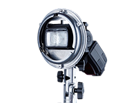 Phottix launches Cerberus adapter for using hotshoe flashes in Bowens and Elinchrom studio head modifiers
