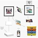 Wundershine smart frame prints, displays and stores your favorite images