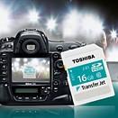 Toshiba brings TransferJet wireless SD cards to Europe