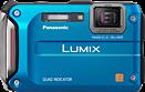 Panasonic launches rugged DMC-TS4 / FT4