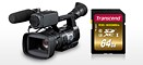 Transcend UHS-I Class 3 memory cards support 4K video capture