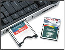 SanDisk introduces WiFi combo CF cards