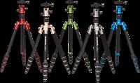 Benro adds colorful, convertible travel tripod/monopod to MeFOTO range