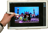 """Panasonic demos 20"""", 4k tablet with high color accuracy"""