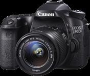 Canon announces EOS 70D mid-range SLR with 'Dual Pixel CMOS AF'