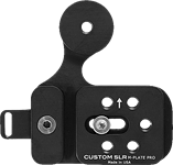 Custom SLR creates Manfrotto and Arca-Swiss compatible tripod plate