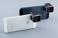 Anamorphic adapter lens makes for widescreen iPhone photos