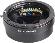 Kipon develops electronic adapters for Canon lenses on mirrorless bodies