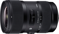 Sigma 18-35mm F1.8 DC HSM preview updated with lens test data