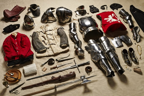 Things they carried: Thom Atkinson's 'Soldiers' Inventories'