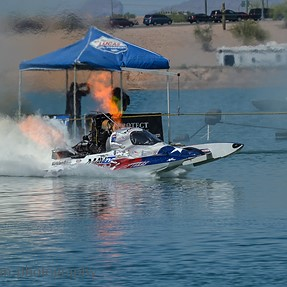 250mph Top Fuel Hydro drag boat racing