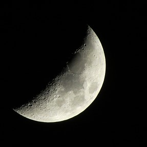 Moon Shot Canon SX 50 HS