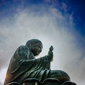 Coolpix A: Big Buddha, Hong Kong
