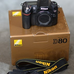 FS: Nikon D-80 Body - works great - with Original Box, Battery and Charger
