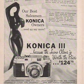 Here's a camera ad to make you re-think current Sony lens prices