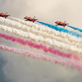 Red Arrows @ Eastbourne Airshow (A77m2 w/ minolta 200mm HS)