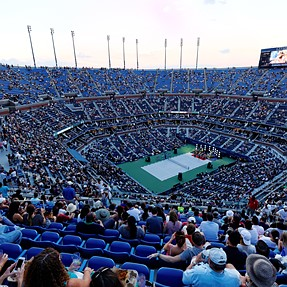 US OPEN 2014 with the Sigma 120-300 Sports in New York City (tennis)
