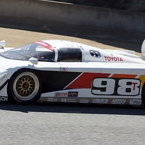 Few IMSA GTP Cars From the past @ Laguna Seca Raceway 2014