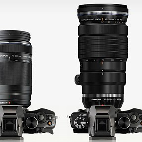 Olympus 40-150mm f2.8 -- ginormous, yes -- but still awesome?