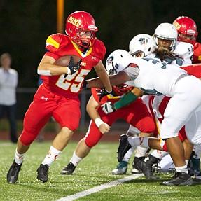 fill flash at High School football