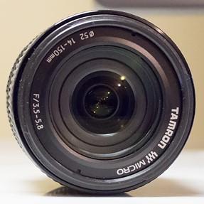 Olympus 17mm F1.8 prime, Tamron 14-150 wide-angle to telephoto zoom lens, Polarizer, etc.