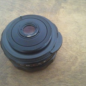 adapter for the pentax super takumar 35mm 3.5 to a samsung nx300 body