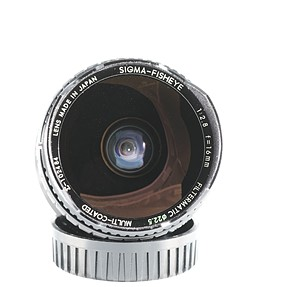 Sigma 16mm F2.8 Filtermatic Fisheye for Sony A-mount
