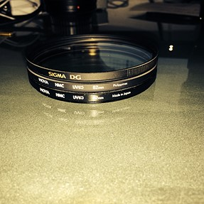 Found several 82mm UV filter, don't know if they are useful.