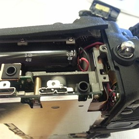nikon d800 teardown to replace top lcd screen and glass