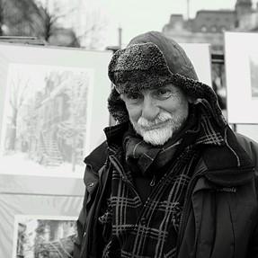 Portrait of a street photographer