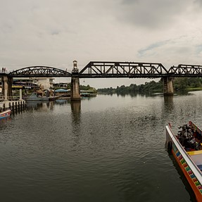 River Kwai Bridge with D750