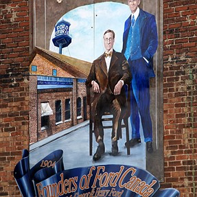 Ford City - Murals