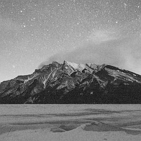 A65, ISO6400, f3.5, Lake & Mountain