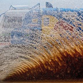 My first Dakar rally