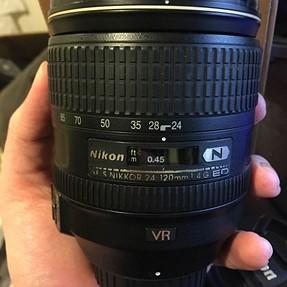 FS or FT: Nikon 24-120 F4 ED VR - Retail version