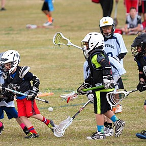 Weekly Lacrosse U11 age group, 1-3 grade am I getting any better? C&C please.