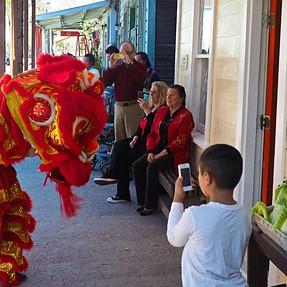 EM5-2....Chinese Lion Dance, Loche, California