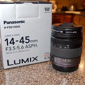 Panasonic 14-45 OIS Lens