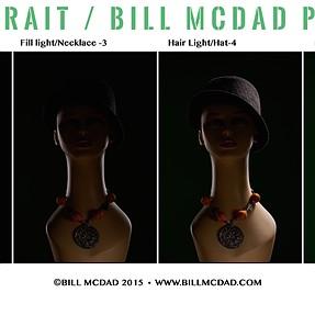 6 light portrait setup for tomorrow's headshot / Profoto & Alienbees Kits