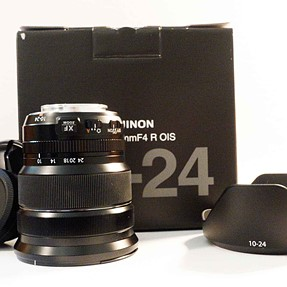 FS: Fujifilm XF 10-24mm f/4 R OIS Lens and Metal Hand Grip MHG-XT1 for X-T1