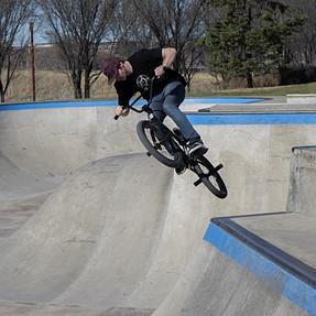 Bikes at the Skatepark.